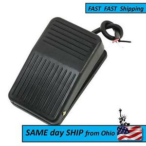Spdt Nonslip Plastic Momentary Electric Power Foot Pedal Switch Ps