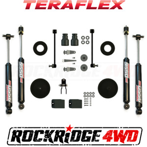 Teraflex Jeep Wrangler Jk 07 18 2 4 Door 2 5 Performance Boost W 9550 Shocks
