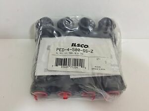Factory Sealed Ilsco Multi Tap Connector Ped 4 500 ss z Ped4500ssz