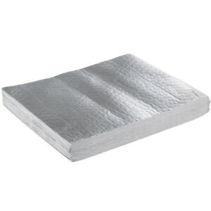 2000 pack 10 3 4 X 14 Insulated Foil Sandwich Wrap Sheets
