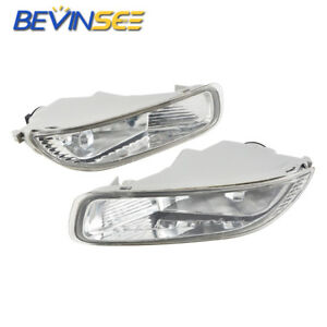 Clear Lens Front Driving Lamps Fog Lights Lamps Fits Toyota Corolla 2003 2004