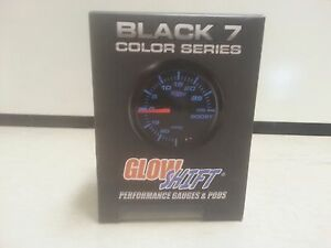 Glowshift Black 7 Color 2 1 16th Tachometer Gauge