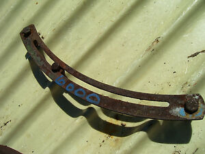 Vintage Ford 6000 Commander Diesel Tractor 3 Point Hitch Lever Guide 1964