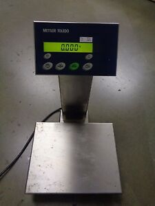 Mettler Toledo Precision Lab Scale Measures 1 10 000th Of Kg W Print Function