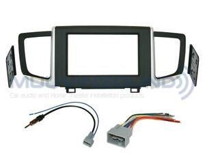 Radio Stereo Installation Dash Kit Double Din Wire Harness Antenna Ho115