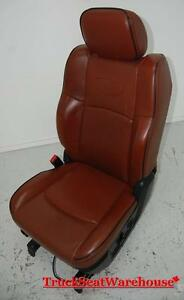 Dodge Ram Truck Longhorn Laramie Air Ride Drivers Leather Seat