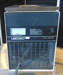 Labconco Shell Freezer 7949000 does Have Lid powers On Line Frosts Over S2338