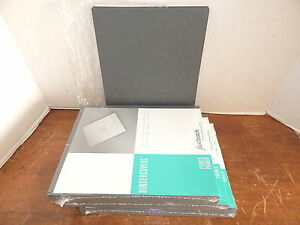 Powis Parker G0102 Dark Grey Bindercovers Without Windows 3 Packages Of 100