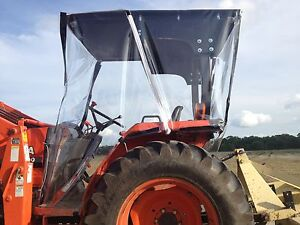 Kubota 4 sided Farm Tractor Cab Canopy Top For Most 20hp And Up Tractors