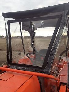 Kubota Farm Sprayer Tractor Cab Canopy Top W Hard Front Electric Wiper