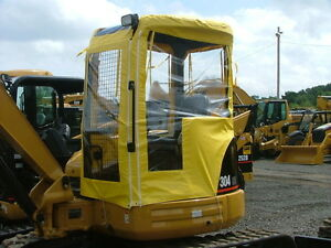 Usa 4 Sided Cat 302 5 Mini Excavator Soft Tractor Cabs