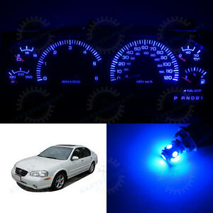 Blue Dashboard Speedometer Instrument Cluster Led Light Bulbs For 98 01 Maxima