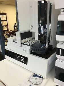 Hp Agilent Sample Prep Workbench 7696a With Software For Hplc 1200 Gc 6890n