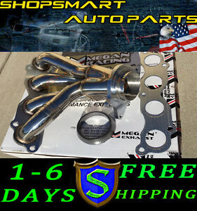 Megan Racing Exhaust Stainless Header For Acura 2002 Rsx Type S 02