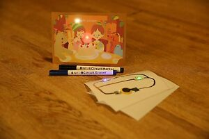 Agic Dazzly Starter Kit Let s Make Luminous Card Stand Made In Japan