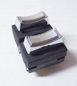 1968 To 1969 Lincoln And Ford Thunderbird Double Window Switch 12 Pin