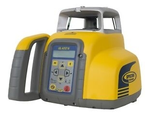 Spectra Gl422n Dual Grade Laser With Vertical Alignment Self leveling 2 600 foot