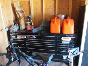 Snap On Classic 96 Tool Box With Cart Locker Motor Stand And Loaded With Tools
