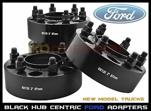 2015 2017 4 Ford F 150 Raptor Expedition 2 Hub Centric Wheel Spacers Adapters