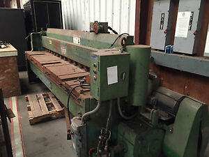Wysong 1010 rd Power Squaring Shear 120 10 Ga