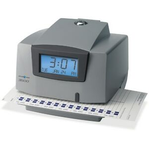 Pyramid Time Systems M3500 Electronic Document Time Recorder Ptim3500