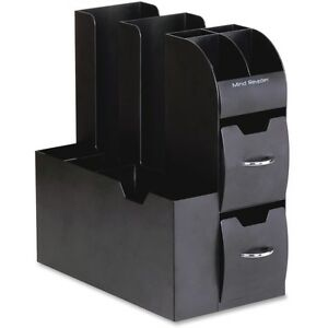 Coffee Condiment Caddy Organizer 5 2 5 X 11 X 12 3 5 Black
