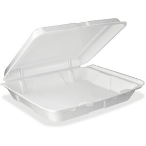 Dart Single compartment Foam Container Dcc95ht1r
