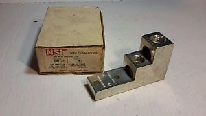 Nsi Brumall 600t 2 Contactor Lug Kit Wire Connector New 19