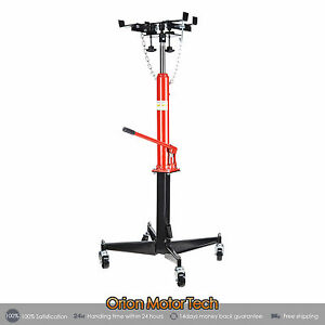 1100 Lbs Transmission Jack 0 5 Ton Capacity Hydraulic Adjustable 51 To 71