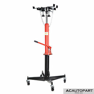 0 5t 1100lb Manual Transmission Jack Hydraulic Lift Pedestal 51 To 71 Height