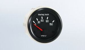 Vdo Gauge Oil Pressure 150 Psi Genuine Cockpit 350 041 2 52mm Spin loc harness