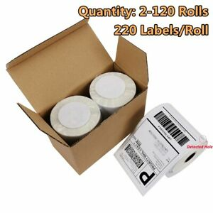 2 120 220 roll Dymo 4xl Direct Thermal Shipping Labels 4x6 1744907 Compatible