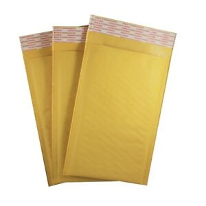 00 5 x 9 Kraft Bubble Self Seal Mailers Padded Shipping Envelopes 25 Pack