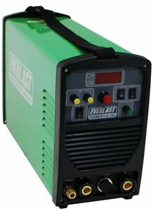 Everlast Powertig 185dv Dual Voltage 185 Amps Ac dc Tig Stick Welder