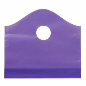 Purple Wave Plastic Shopping Bags Small 55592