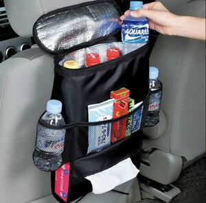 Auto Car Back Seat Organizer Holder Multi Pocket Travel Storage Bag Hanger