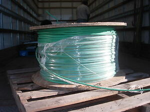 3800 Feet Of 4 Awg Copper Xhhw 2 Wire On Spool New