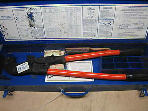 Thomas Betts Tbm6 Manual Crimper Crimping Tool Used Free Shipping