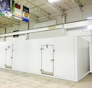 New Walk In Cooler Freezer Combination Storage With Refrigeration Can Customize