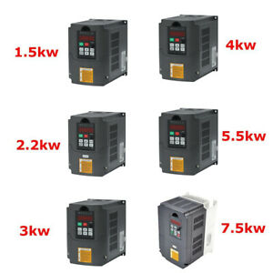 7 5kw 5 5kw 2 2kw 4kw 3kw 1 5kw Variable Frequency Drive Inverter Huanyang Vfd