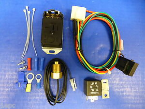 Proform 69598 Adjustable Electric Fan Controller Thread In Probe Sensor 3 8 Npt