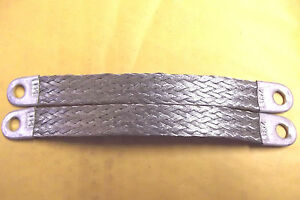 10 8 4 Gauge 3 8 Tin Plated Copper Negative Ground Strap Made In The Usa 21