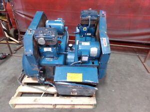 Quincy 2 Stage Air Compressor Model M0c01006d