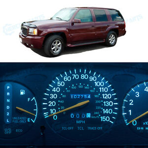 Ice Blue Speedometer Gauge Instrument Cluster Bulb Led Light For Escalade 99 00
