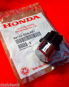 New Genuine Oem Honda Accord 2003 2005 Shifter Handle Shift Button Knob