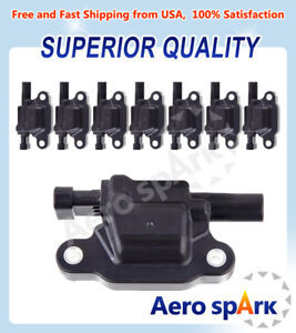 Ignition Coils Pack Of 8 For Chevrolet Silverado 1500 Suburban Tahoe C1511 Uf413