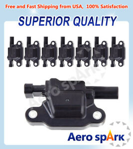 Ignition Coil Pack Of 8 Replacement For Chevrolet Silverado 1500 C1511 Uf413