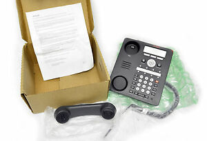 Avaya 1608 Ip Telephone Manufacturer Refurbished Black Voip Phone Ships Free