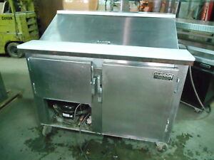 Bain Marie Prep Table 48 With Casters