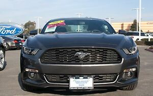2015 2017 Ford Mustang 2 3l Gt Removable Front License Plate Bracket Sto N Sho